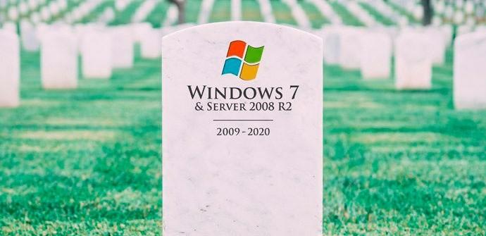 Fin soporte Windows 7 y Windows 2008/R2
