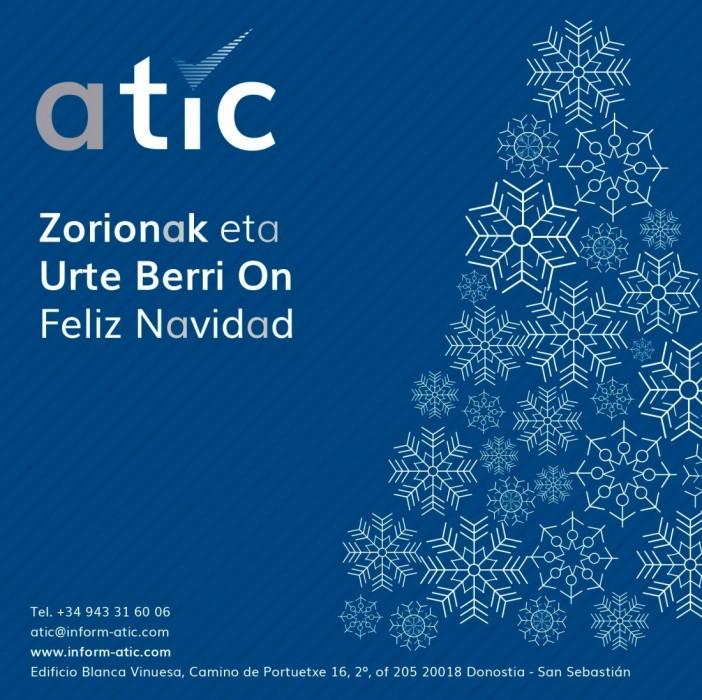 Zorionak eta Urte Berri On Feliz Navidad y Prospero Año Nuevo