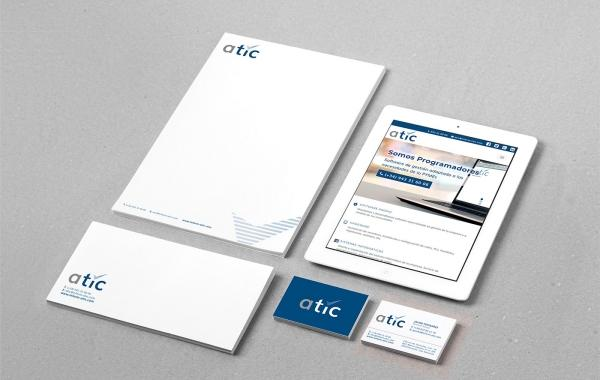 Diseño branding para ATIC