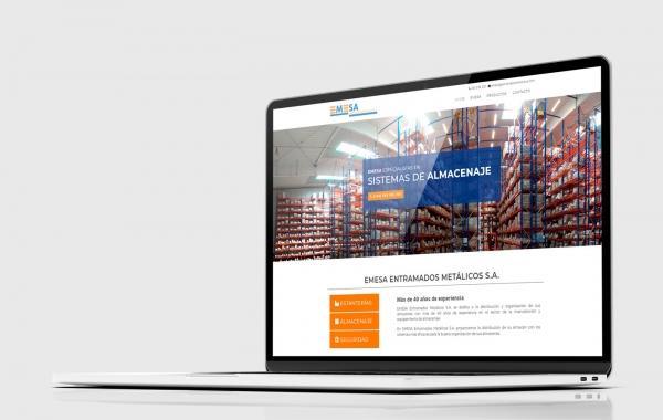 desarrollo web EMESA