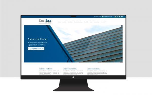 Diseño web Euritax